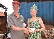 Verslag distributie crème in Guinee-Bissau